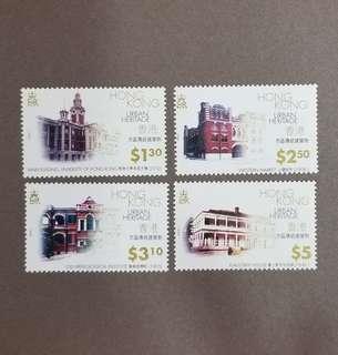 【絕版】香港郵票 1996 年