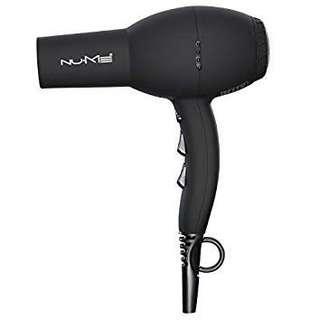 Nume Signature Hair Dryer in Black