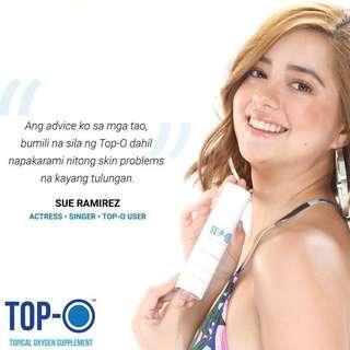 Top-O topical oxygen spray anti-acne,allergy,eczema