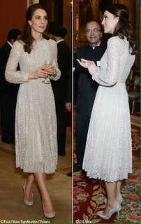 RHONA Dress By ERDEM, Size 10, NWT, As Seen On Princess Kate!
