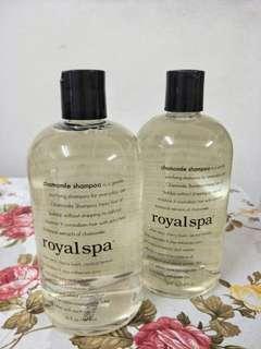 Royal Spa Shampoo #OCT10