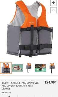 Decathlon Itiwit buoyancy vest 助浮衣救生衣