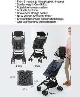 Beblum micro stroller like pockit