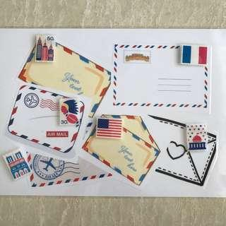 🚚 DIY Memory - Postage Stamps