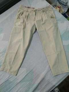 khaki trousers fits 32-34 waistline