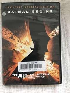 All 3 Chris Nolan / Batman movies on Special Edition DVD!