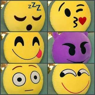 Huggable Emoji Cushions