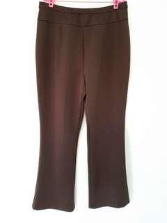 Arthur Yen Dark Brown Work Pants (US14/ UK18)
