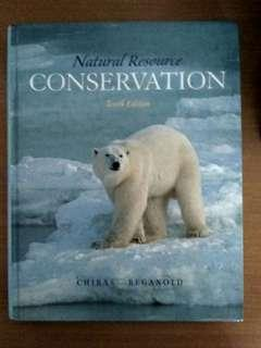 Nature Resource Conservation by Chiras Reganold