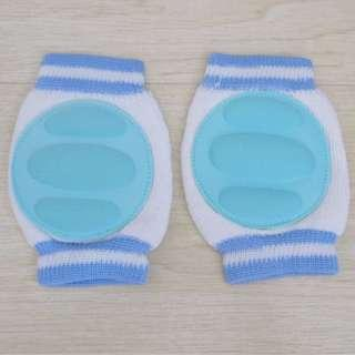 *CLEARANCE* Children Soft Anti-slip Elbow Cushion Crawling Knee Pad Light Blue (FREE POSTAGE)