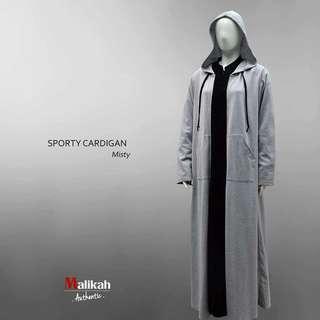 Sporty cardigan by abaya malikah