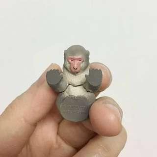 「轉蛋/扭蛋」休眠動物園5:猴子-可換同代樹懶活熊貓