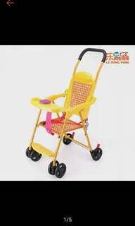 Stroller with sounds