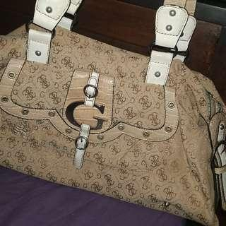 Authentic guess cockey bag