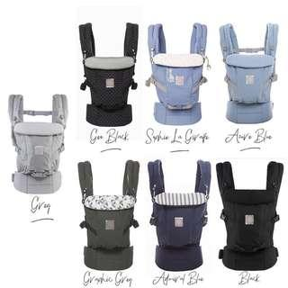 🚚 [Ready Stock] Ergo Adapt Baby Carrier OEM with Small Gift Included🎁