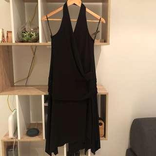 4. Portmans halter dress size M