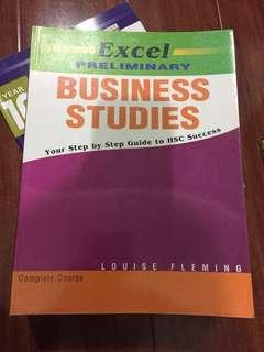 Business Studies Preliminary Excel Study Guide Textbook Year 11
