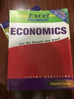 Preliminary Economics Excel Study Guide Textbook Year 11