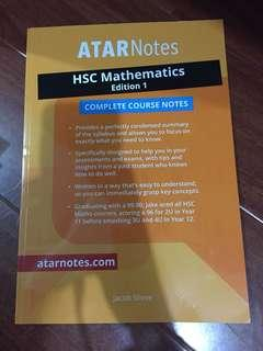 HSC YEAR 12 notes study guide Mathematics Advanced 2 Unit