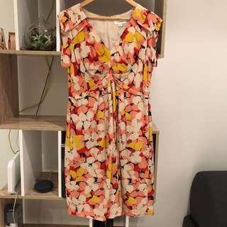 Country road printed dress size 14