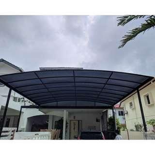 Polycarbonate Solid Sheet Awning
