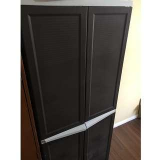 Click-lock Wardrobe with Drawers