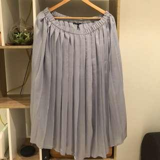 Tokito grey skirt size 14 brand new with tags