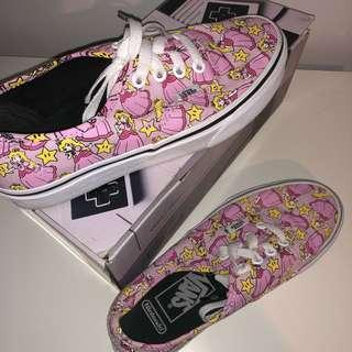 Vans size 5.5 woman's limited edition nintendo