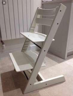 Stokke Tripp trap baby to adult chair