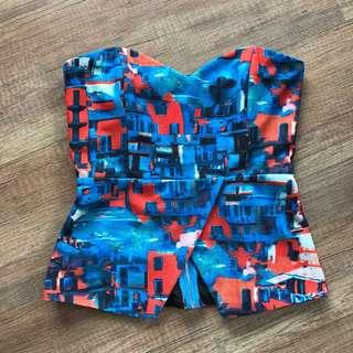 MDS Abstract Bustier