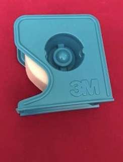 全新3M 白色 膠紙 膠布貼紙 1圈連膠紙座