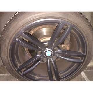 "BMW Msport 18"" rims & tyres"