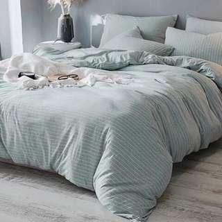 現貨 MUJI 無印風床套 裸睡 天竺棉 針織棉 日式床組 單人床組 宿舍