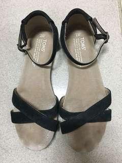 🚚 Toms麂皮涼鞋