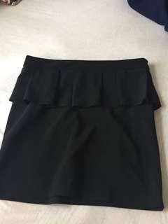 Paper Scissors Peplum Skirt Size 10