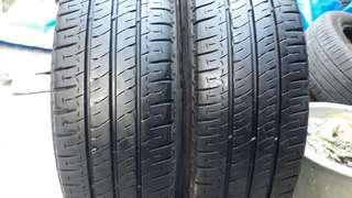 彰化員林 中古輪胎 二手輪胎 205 65 15c 米其林貨車胎 實體店面免費安裝