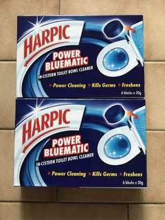 🚿 Harpic Bluematic