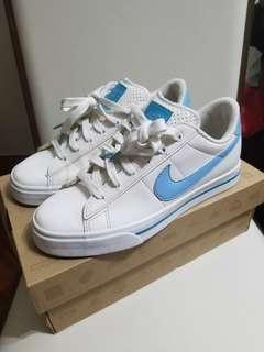 Nike 淺藍白色 女裝 WMNS Sweet Classic SL (連原裝盒)