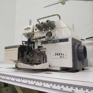 Singer Industrial Overedge Sewing Machine 2431k 001-4