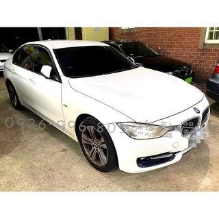 BMW 2012/13 320I  月付12000