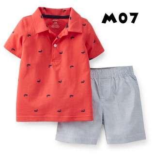 Carter's Top & Shorts Set - Boys