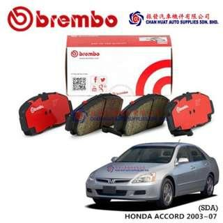 Honda Accord SDA 2003~07 Brembo Brake Pad - Front (Pair - Left & Right)