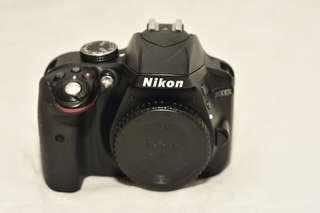 Nikon D3300 with lens