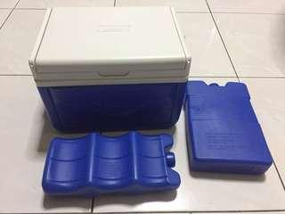 Coleman Mini Cooler Box + 2 Ice pack COMBO