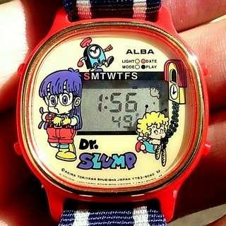 JAPAN WATCH 小雲小吉卡通手錶