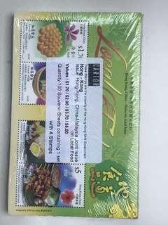 地道美食郵票小全張原封100枚特價出讓