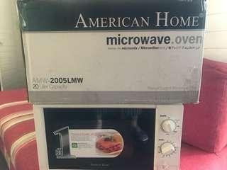 REPRICED Manual Rotary Microwave Oven