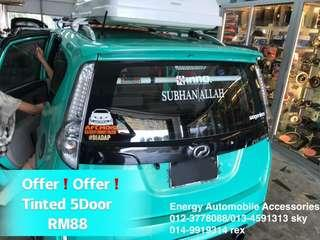 Car Tinted Offer