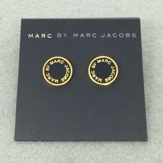 Marc Jacobs Sample Earrings 黑色配金色耳環