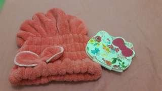 Chesty Hello Kitty mirror and Hello Kitty Bonnet From Japan